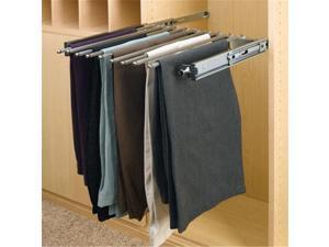 Rev A Shelf Rspsc.1814Cr 14 In. Depth Pull-Out Pants Rack Chrome - 9 Capacity