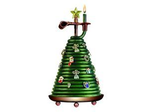 Candle By The Hour 20650B 80-Hour Christmas Tree Coil Candle with 14 Charms