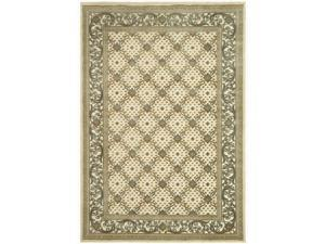 Safavieh PAR04-404-5 5 ft. 3 in. x 7 ft. 6 in. Medium Rectangle Paradise Creme Traditional Rug