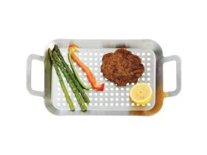 Chefmaster KTBQGT Stainless Steel Bbq Grill Tray- Small