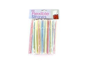 Bulk Buys HX060-50 Flexible Straws