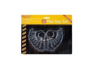 Bulk Buys OB928-24 Hex Key Set