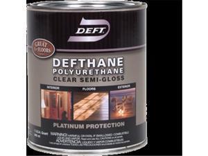 Deft 123-04 1 qt. Semi Gloss Clear Defthane Polyurethane 275 Voc