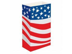 JH Specialties 47824 Luminaria Bags - Standard Americana 24 Ct