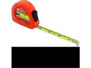 Great Neck Saw 95000 0.5 in. x 12 ft. Measuring Tape Soft Case - Neon Orange