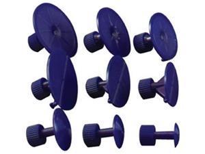 Dent Fix Equipment DTF-DF-DM520DT Plastic Ding Massager Tabs, 9Pc.