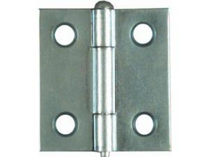 Stanley N141-739 1.5 x 1.44 in. Zinc Light Narrow Hinge - 2 Pack