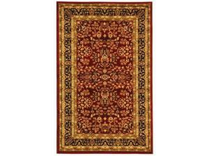 Safavieh LNH214A-220 2 ft. 3 in. x 20 ft. Runner Lyndhurst Red & Black Traditional Rug