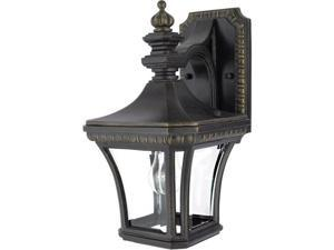 Quoizel Devon Traditional Imperial Bronze Small Wall Lantern