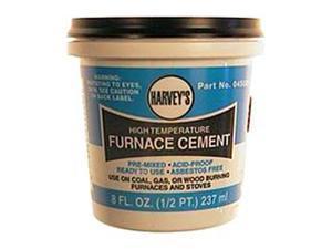 Wm Harvey Co .50 Pint Non-Asbestos Furnace Cement  045020