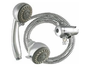 Ldr Industries 5203020CP 3 Function Hand Held And Head Chrome Kit