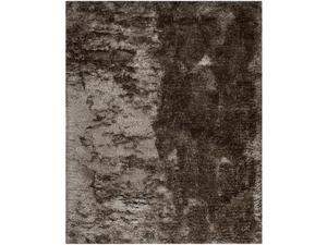 Safavieh MSR0562D-8 8 x 10 ft. Large Rectangle Shag Martha Stewart Shag Latte Hand Tufted Rug
