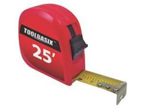 Toolbasix Rule Tape 25Ftx1In Sae Abs Cse 62-7.5X25-R