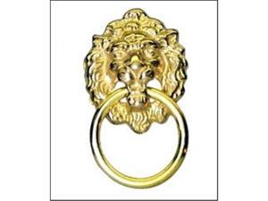 Mayer Mill Brass SMLDP-1 Small Lion Head Drawer Pull