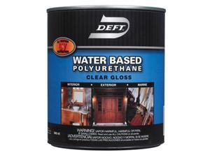 Deft DFT257-01 Water Based Gloss Polyurethane, Pack Of 4