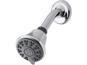 Water Pik ETC-413T Showerhead 4-Setting Fixed - Chrome