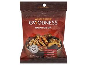 WHOLESOME GOODNESS TRAIL MIX MARATHON-6 OZ -Pack of 12