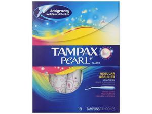 Tampax Pearl Regular Absorbency - Fresh Scent, 18 Count