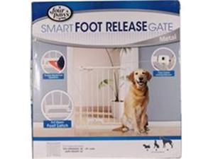 Four Paws Products 436174 Foot Release Metal Gate