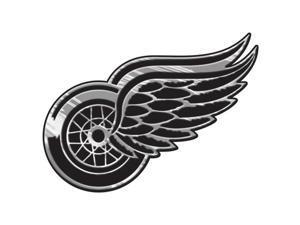 Detroit Red Wings Silver Auto Emblem