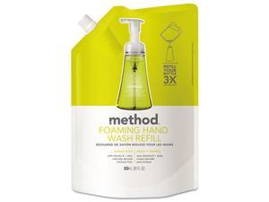 Method Products 01365 Foaming Hand Wash Refill, Lemon Mint - 28 oz.
