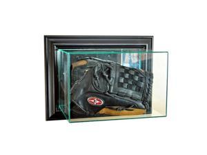 Perfect Cases WMGLV-B Wall Mounted Glove Display Case, Black