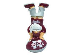 Mississippi State Bulldogs Garden Gnome - Handstand On Football