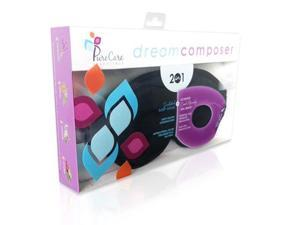 PureCare PCDCSS Dream Composer Deluxe Sleep Shade & Scented Cooling Gel Mask - Black