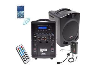 Califone International PA419-02 Portable Bluetooth PA