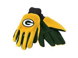 Forever Collectibles 74216 Green Bay Packers Colored Palm Sport Utility Gloves
