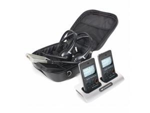 Harris Communications WS-DWSPCS2-300 Digi-WAVE 300 Rechargeable Kit 2 for Two Way Communication