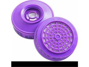 Sperian 105005 Purple P100 High Efficiency Replacement Filters For Asbestos & Lead