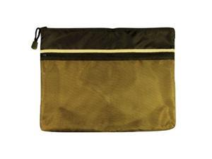 Alvin EBDZ1013 10 in. x 13 in. Dual Zippered Pocket Fabric Mesh Bag
