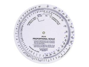 C-Thru PS69 5 in. Proportional Scale