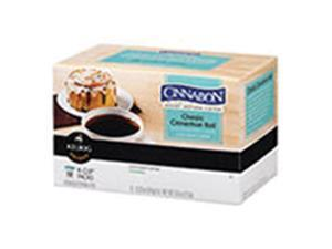 Frontier Natural Products 228537 Green Mountain Coffee Roasters Gourmet Single Cup Coffee Classic Cinnamon Roll Cinnabon 12 K-Cups