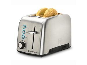 Toastmaster TM-23TS 2 Slice Deluxe Stainless Steel Toaster