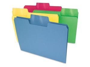 Smead Assorted Color SuperTab File Folders