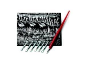 Scratch-Art Scratch Tool Set With Penholder And Knives