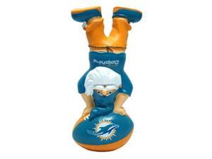 Miami Dolphins Garden Gnome - Handstand On Football