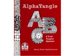 Design Originals Truly Tangled Alphabet Paperback Book, Sandy Steen Bartholomew, 32 Pages -