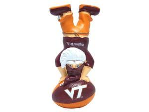 Virginia Tech Hokies Garden Gnome - Handstand On Football