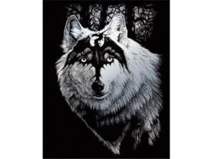 Royal & Langnickel SILF28 Engraving Art Set Silver Dragon Wolf