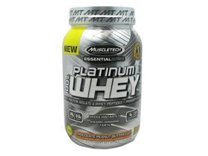 Muscletech 800520 Essential Series 100 Percent Platinum Whey Chocolate Peanut Butter Cup