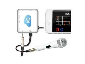 Acesonic KMSJ1W Sing n Jam Portable Karaoke Mixer For Mobile Devices