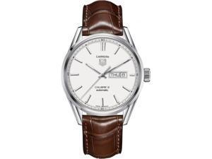 WAR201B.FC6291 Tag Heuer Carrera Leather Automatic Mens Watch