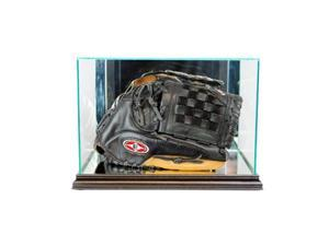 Perfect Cases BSBGLR-B Rectangle Baseball Glove Display Case, Black