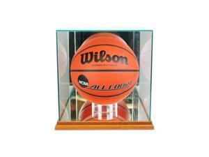 Perfect Cases BBR-W Rectangle Basketball Display Case, Walnut