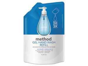 Method Products 00653CT Gel Hand Wash Refill, Sea Minerals - 34 oz.