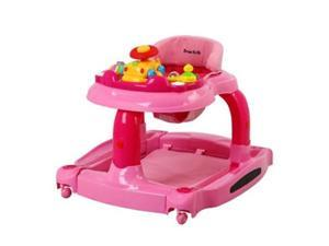 Dream On Me 413-P 2 In 1 Baby Tunes Musical Activity Walker & Rocker - Pink