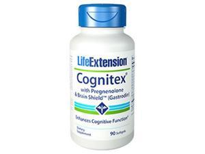 Life Extension 1897 Cognitex with Pregnenolone & Brain Shield, 90 Softgels